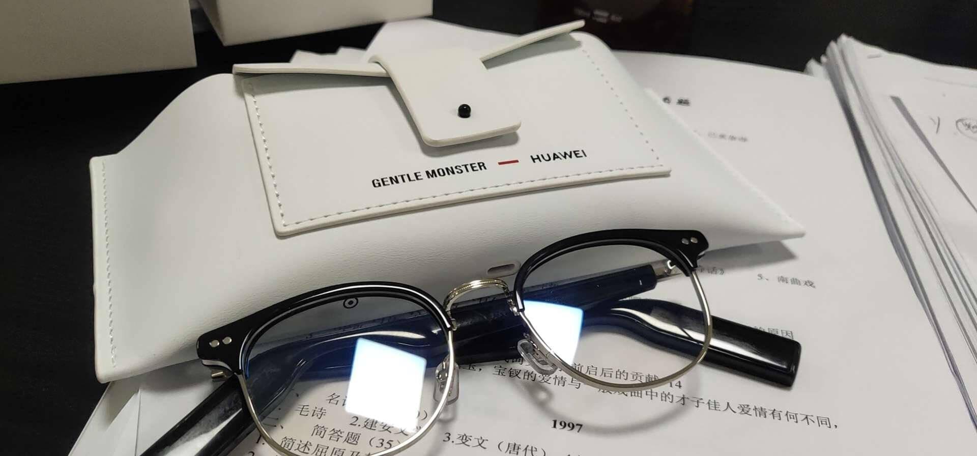 【现货】HUAWEIXGentleMonsterEyewear华为智能眼镜高清立体声降噪通话SMARTJACKBYE-01
