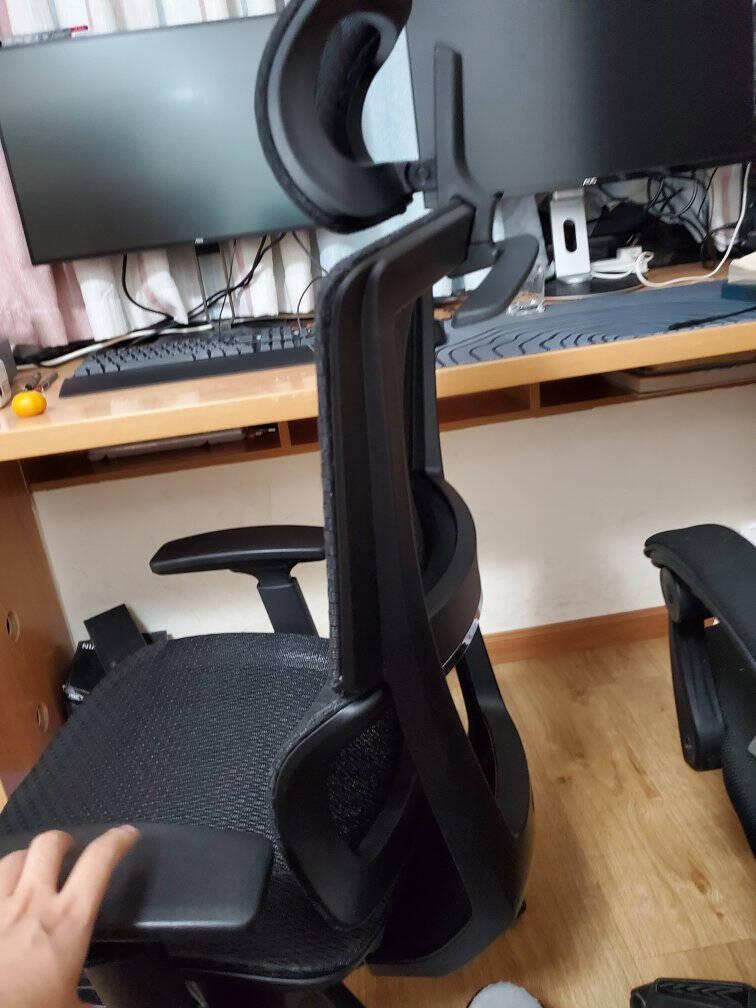 【新品】网易严选小蛮腰双背人体工学转椅坐躺两用撑腰护颈高弹网面可调节滑动电脑椅办公椅电竞椅黑色