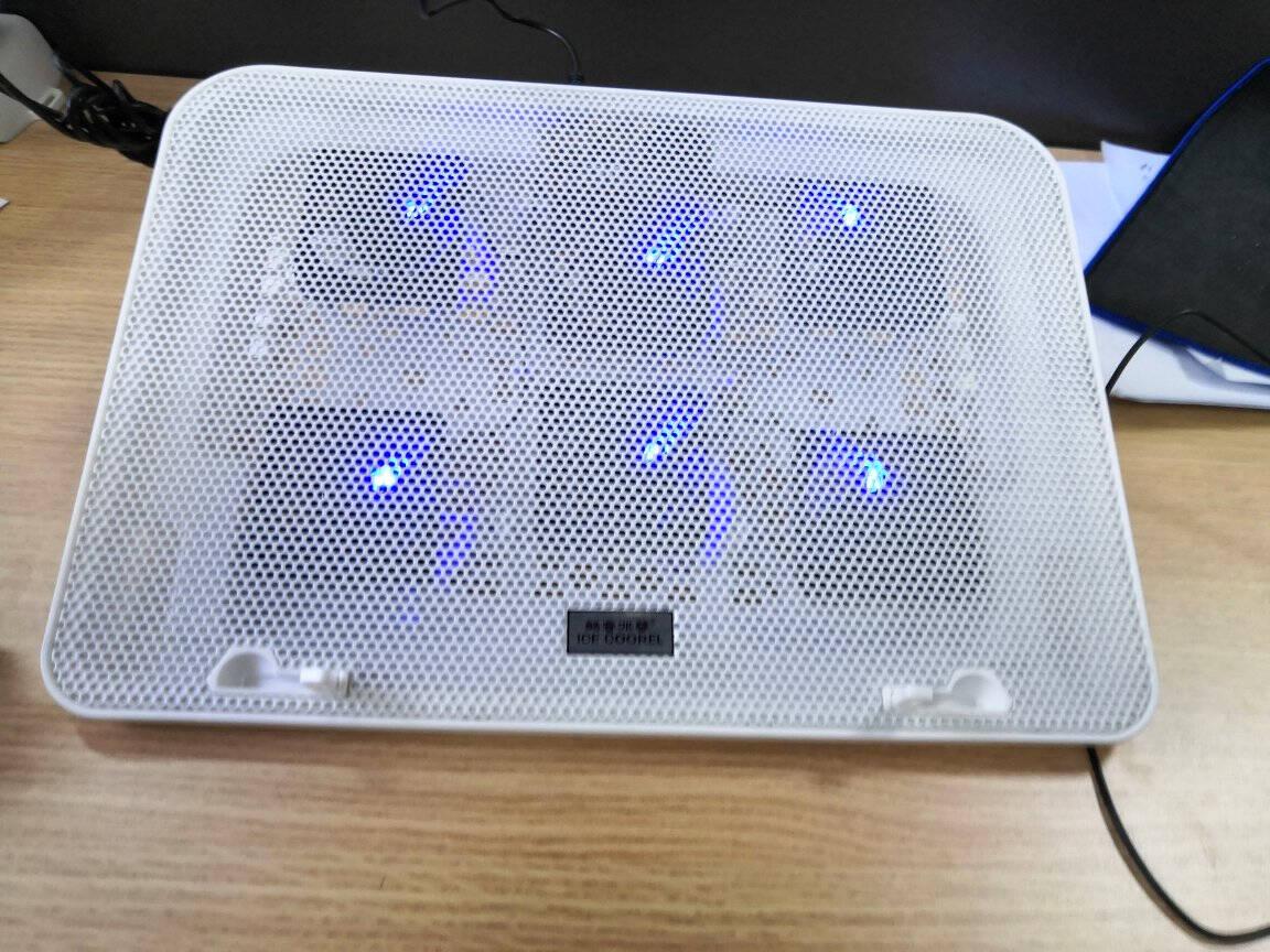 酷睿冰尊(ICECOOREL)A9笔记本散热器(笔记本支架/散热架/笔记本/电脑配件/散热器底座/15.6英寸)