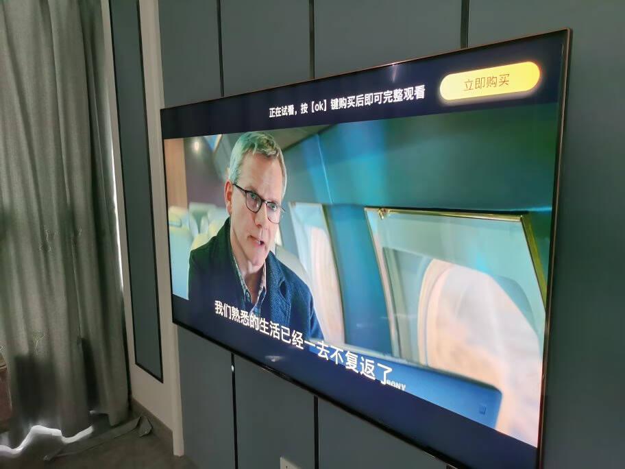 索尼(SONY)KD-65X8000H65英寸4K超高清HDR液晶平板电视智能家居安卓9.0系统