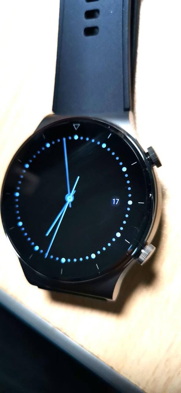 HUAWEIWATCHGT2ProECG版华为手表运动智能手表12天续航/蓝牙通话/蓝宝石镜面/专业户外运动46mm黑