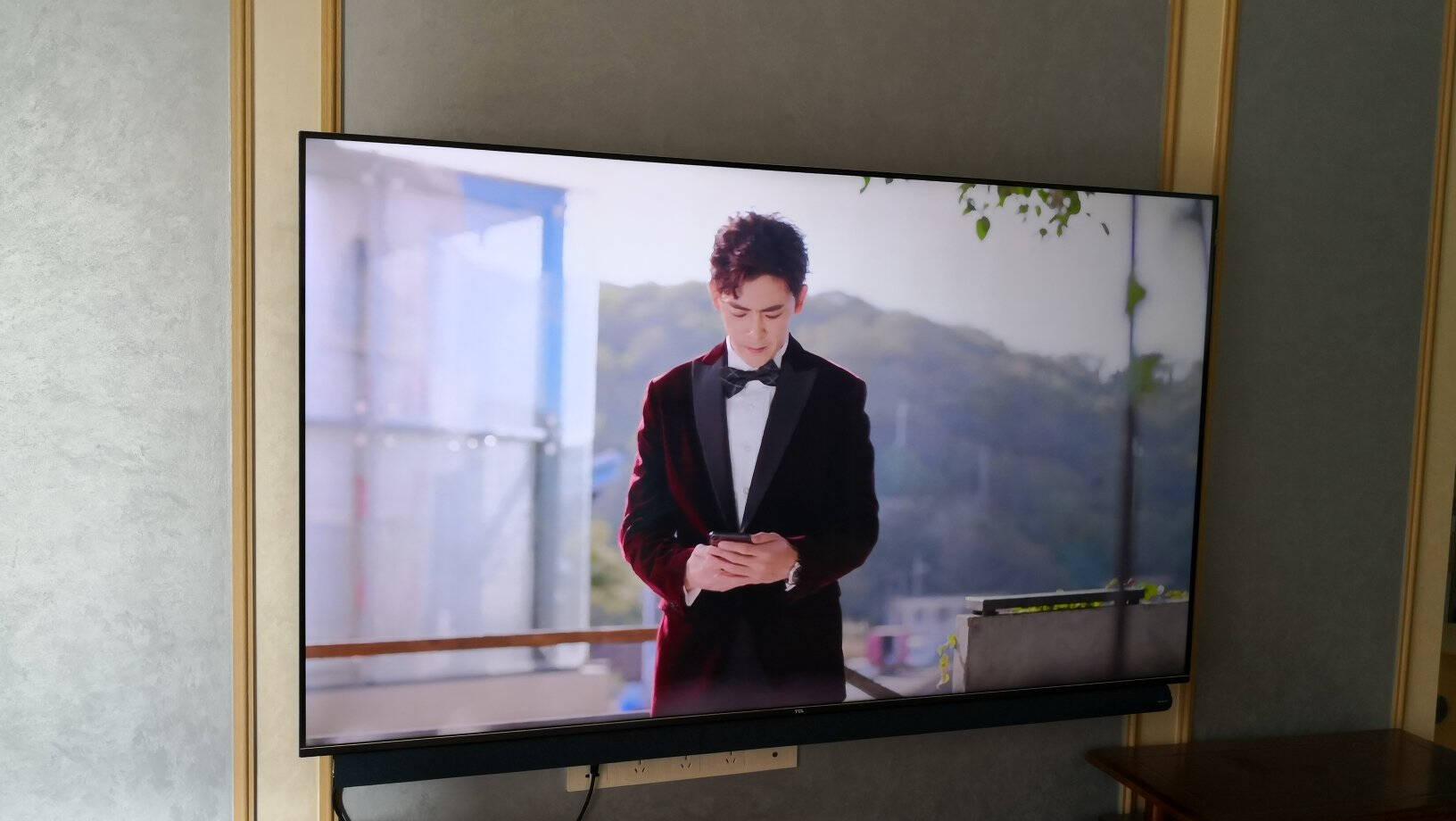 TCL智屏75V8-Pro75英寸130%高色域全面屏电视免遥控AI声控智慧屏2+32GB智能液晶平板电视机以旧换新