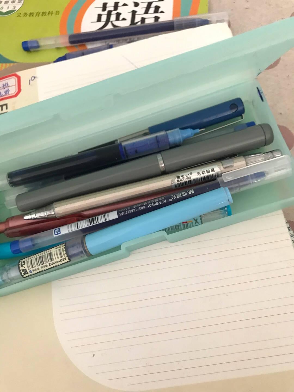 晨光(M&G)文具0.5mm黑色大容量中性笔巨能写办公签字笔全针管一体芯碳素笔水笔12支/盒AGPY5501