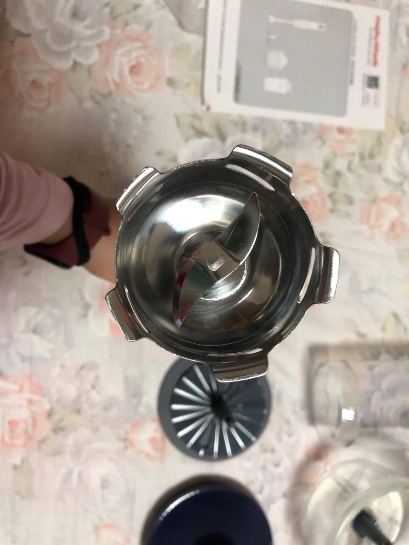 英国摩飞电器料理棒婴儿辅食机便携式手持料理机打蛋器绞肉机碎肉碎菜无线搅拌机果汁机榨汁机标配