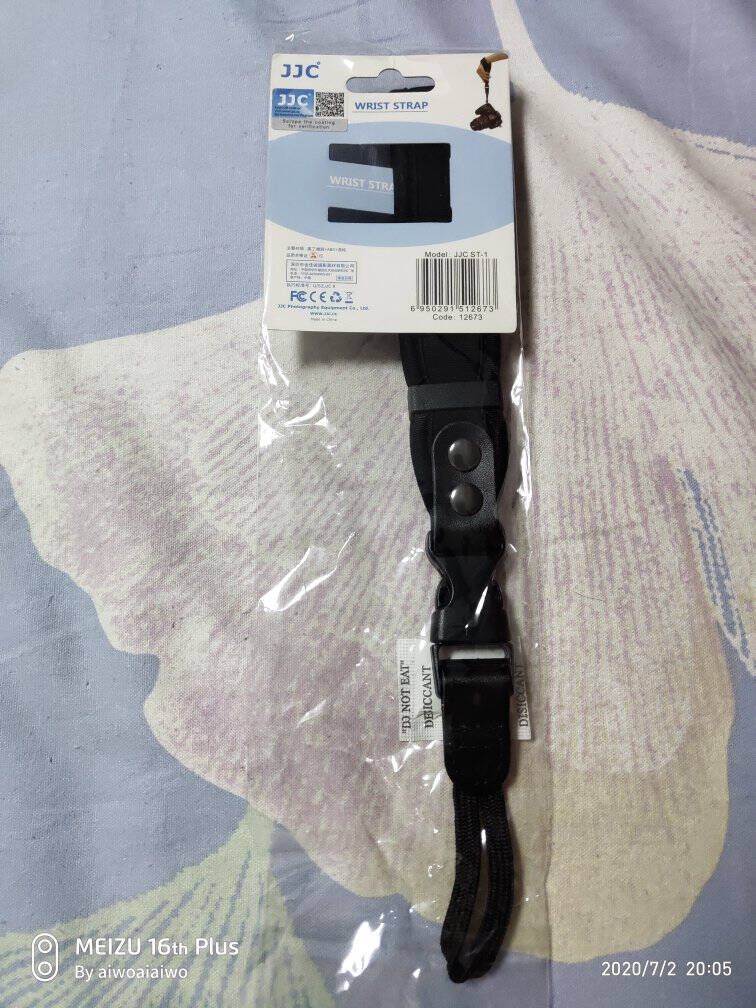 JJC相机手腕带索尼SONY微单A7M3A7R3A7A6300A6000佳能M50RP200DII二代750D800D单反配件手绳