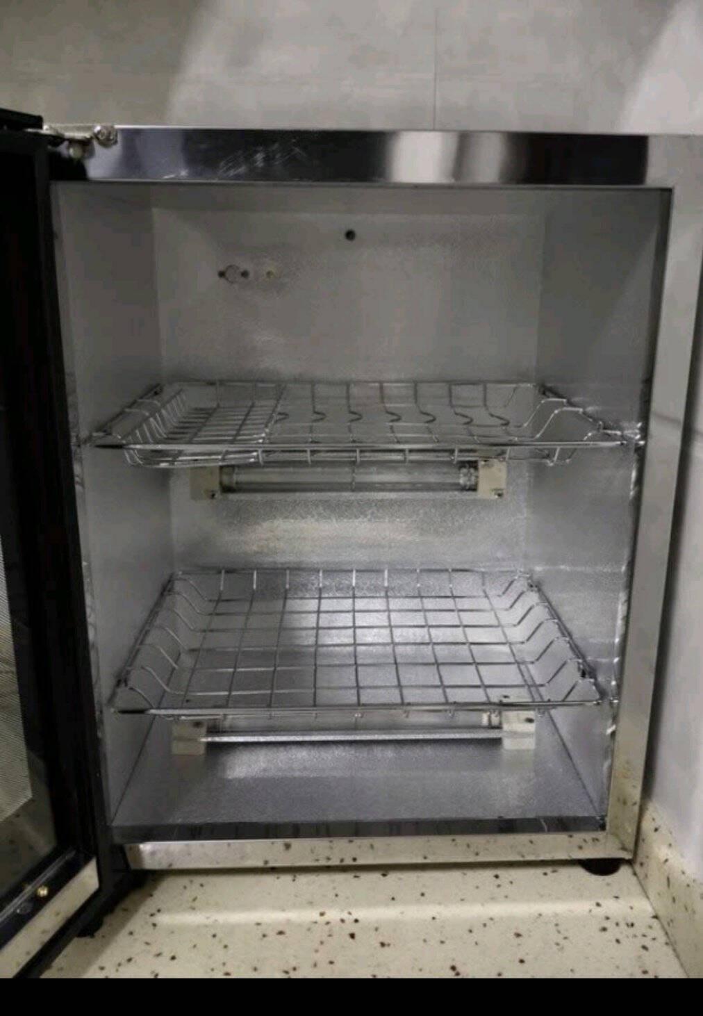 耐惠(NAAFI)台式消毒柜家用小型迷你高温厨房碗筷碗柜餐具消毒碗柜桌面式商用茶杯茶具柜XDR53-TNP1