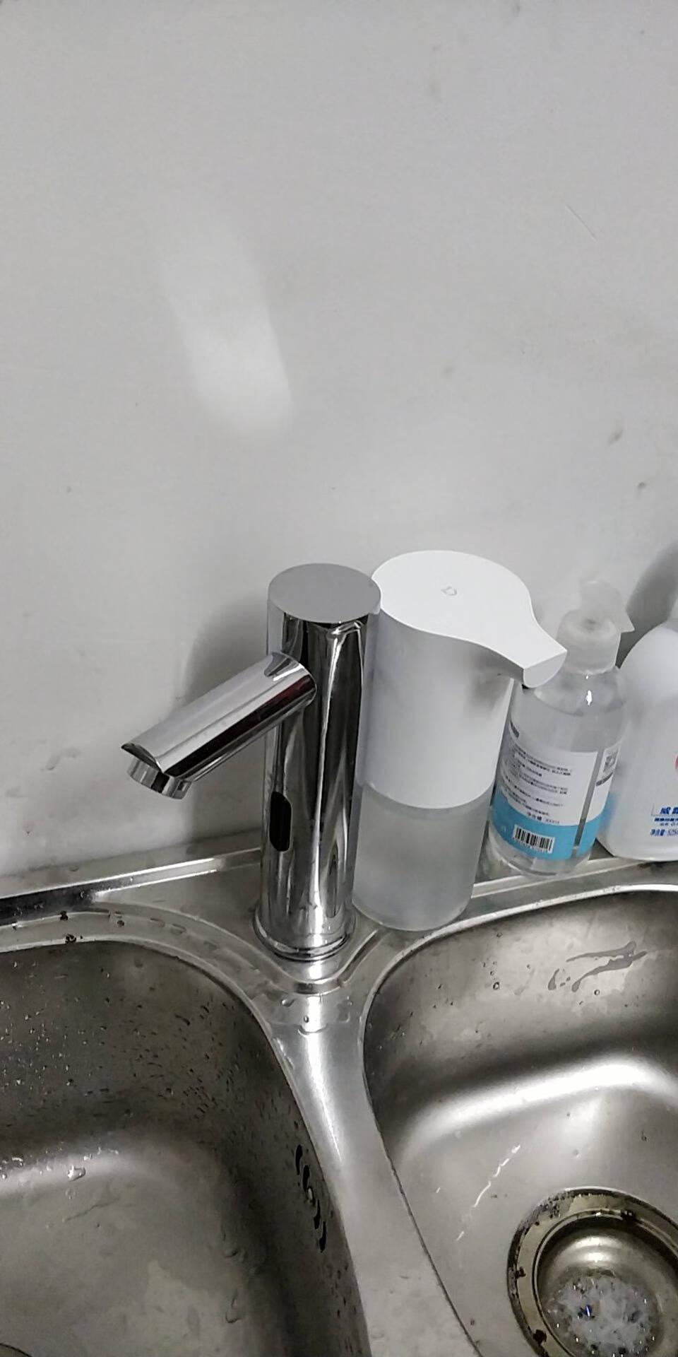 莫顿(MODUN)M-3388单冷感应铜制水龙头自动感应式洗手器面盆龙头