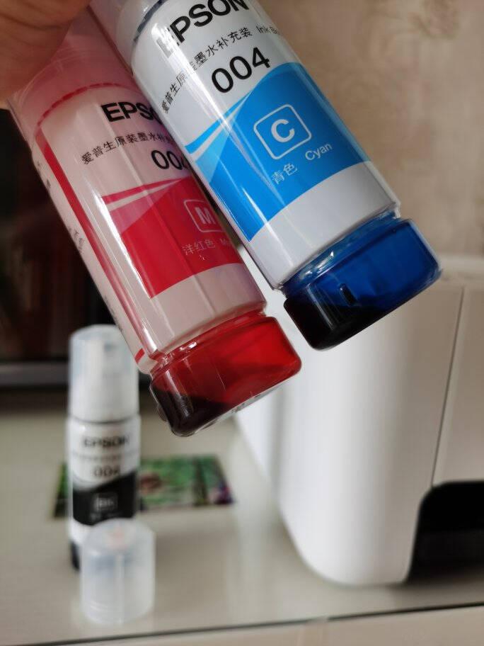爱普生(EPSON)墨仓式L3168微信打印/无线连接打印复印扫描一体机