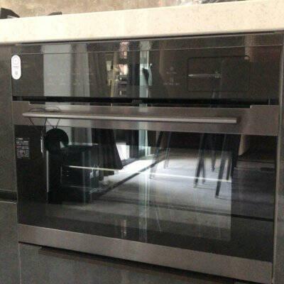 美的(Midea)嵌入式蒸烤箱一体机家用50L大容量搪瓷内胆智能APP蒸箱烤箱二合一BS5055W家电智能NFC