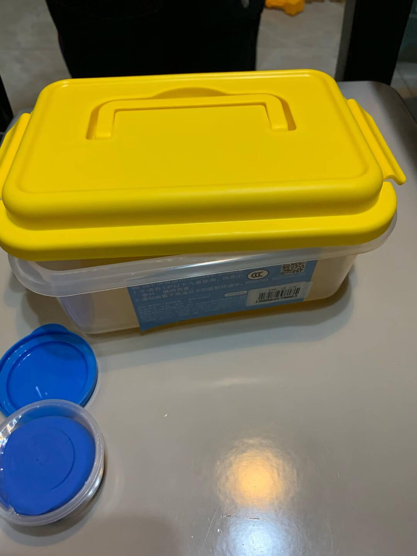 得力(deli)6455魔趣超轻粘土套装12色杯装手工DIY彩泥玩具