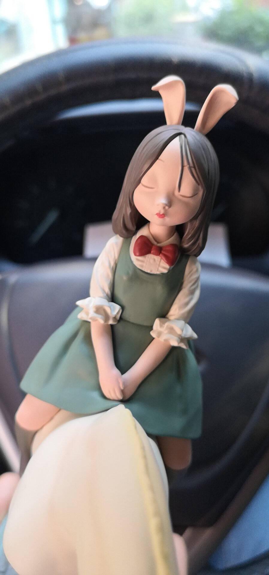可米生活(KEMELIFE)白夜童话系列暖熊·夏夜mini版家居装饰办公室桌面摆件艺术品摆设客厅装饰品雕塑礼物