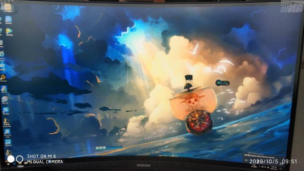 三星(SAMSUNG)玄龙骑士27英寸2K1000R超曲面三面微边144Hz1msHDRFree-sync电竞显示器(C27G55TQWC)