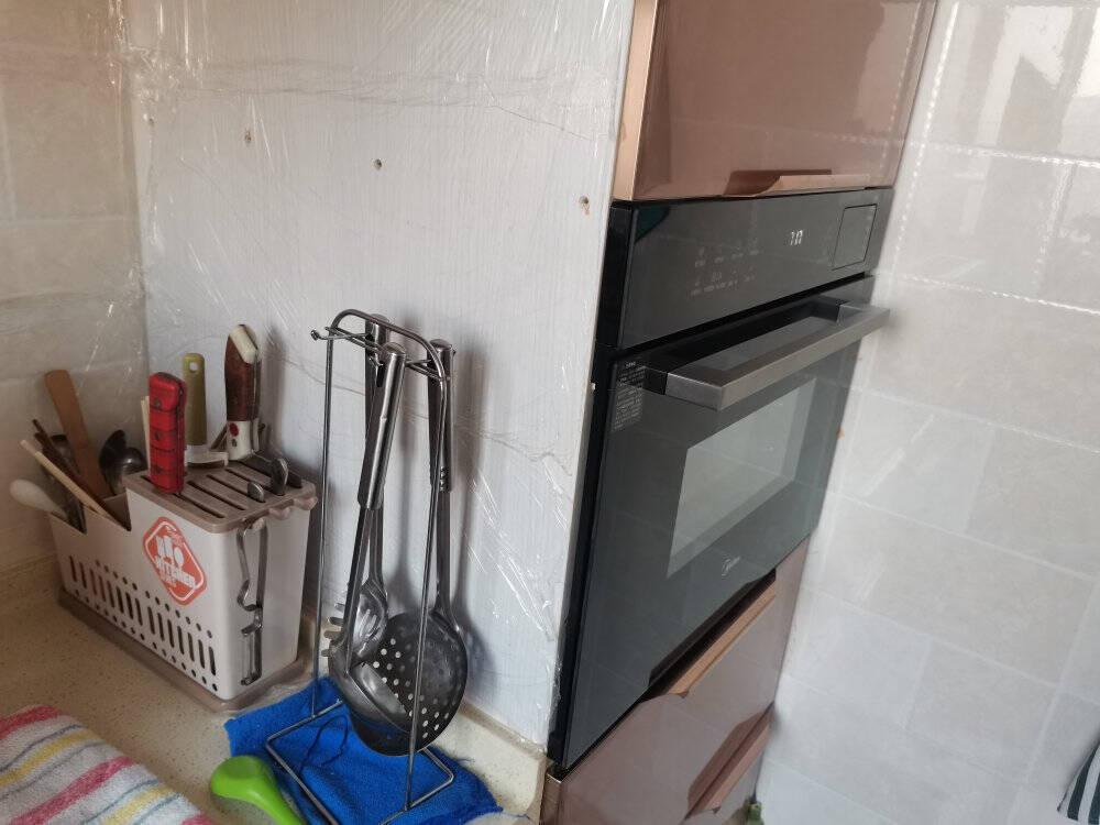 美的(Midea)嵌入式微蒸烤3合1一体机50L大容量彩屏操控微波炉蒸箱烤箱R5APP掌控嵌入式搪瓷内胆BG5050W