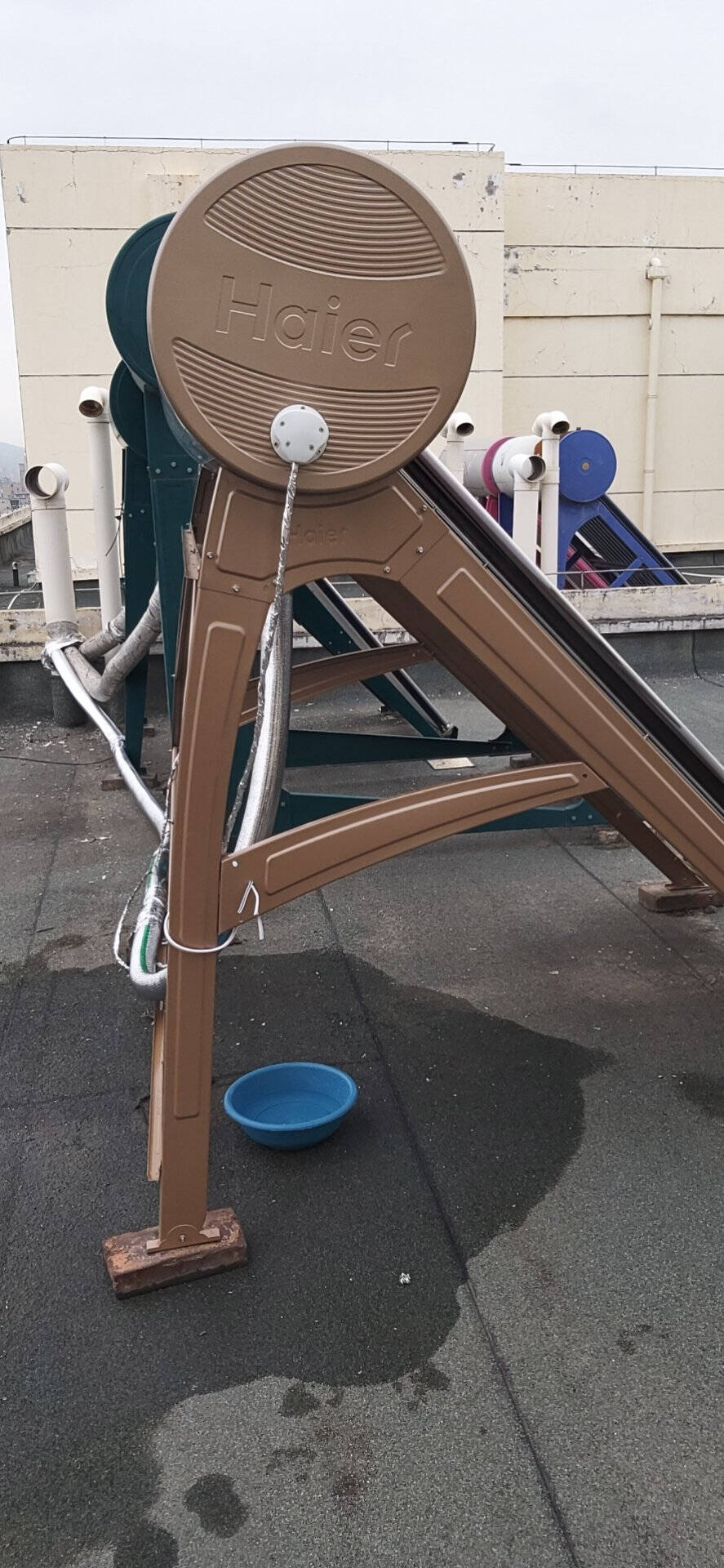 海尔(Haier)太阳能热水器家用全自动上水光电两用带电辅WIFI控制一级能效暖立方高保温Ι6旗舰款32管-245升(3-12人用)