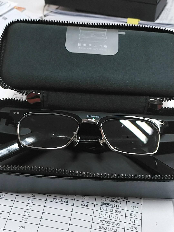 【新款二代】华为眼镜XGENTLEMONSTEREyewearII智能蓝牙语音通话降噪镜框光学CATTA-C1(透明)现货当天发