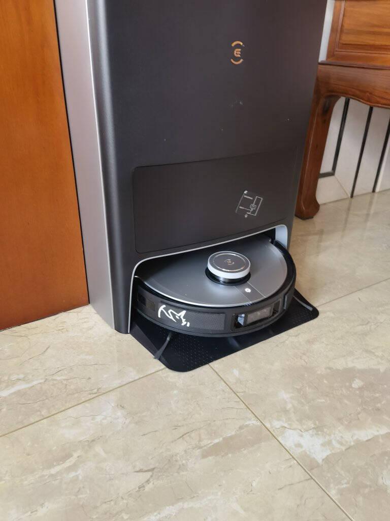 科沃斯Ecovacs地宝X1OMNI自动免洗抹布扫地机器人扫拖一体智能家用洗地机自动集尘旗舰X1OMNI全能版