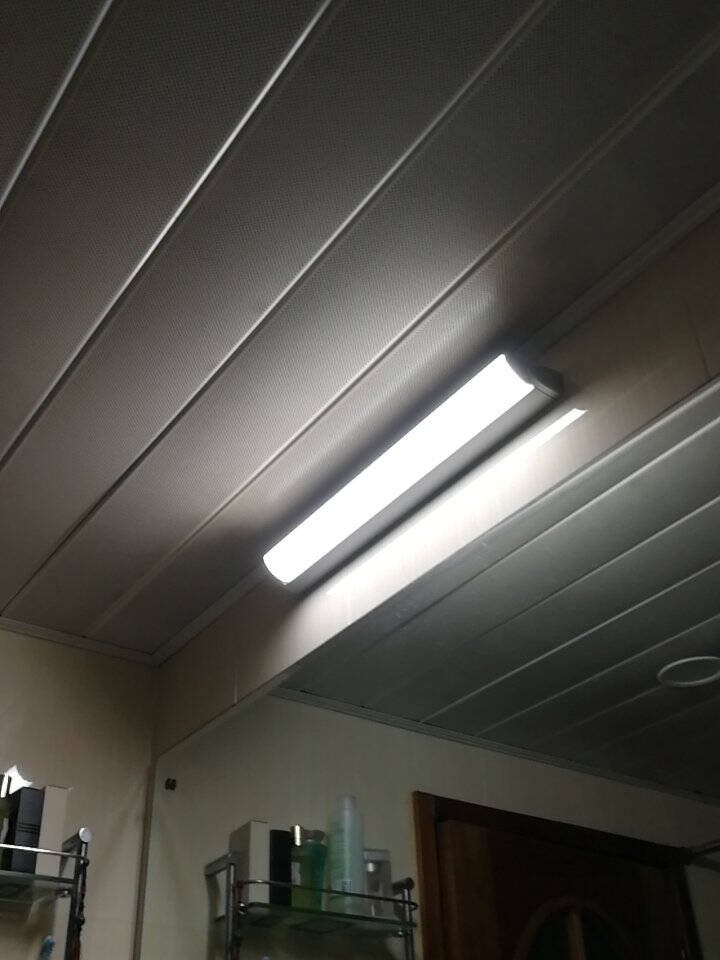 飞利浦T5支架灯一体化LED灯管0.6米1.2日光灯管长条灯带线槽节能直管线条灯室内改造镜前灯橱柜灯T5支架灯1.2米13W中性光
