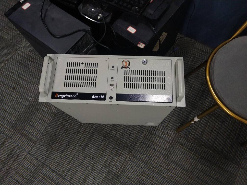 Dongtintech东田【酷睿3代】4U工控机IPC-610L研华A21主板服务器工业电脑DT-610L-A21/i332408G/128GSSD/无DVD/KM/300W