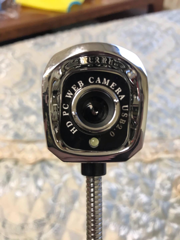 炫光高清电脑视频摄像头带麦克风主播笔记本台式机用台式网络直播网课专用一体外置考试家用外接美颜M600黑色升级版(1080P超清版)