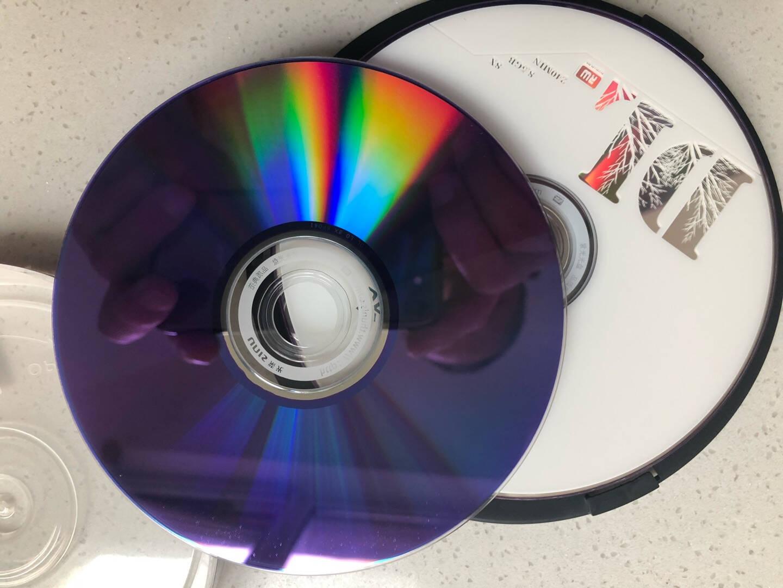 紫光(UNIS)DVD+RDL光盘/刻录盘8速8.5G单面双层桶装10片空白光盘