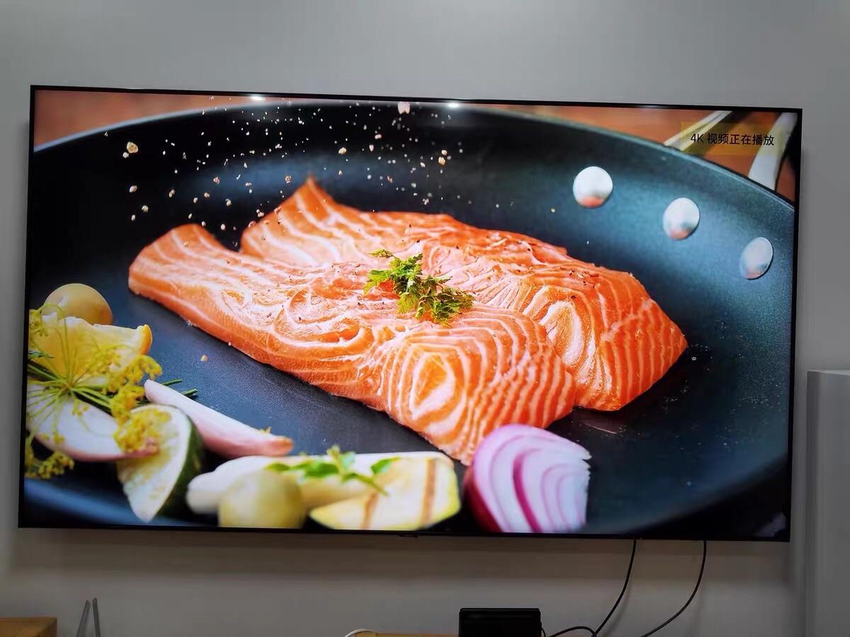 三星82英寸4K超高清电视, 超薄全面屏设计款