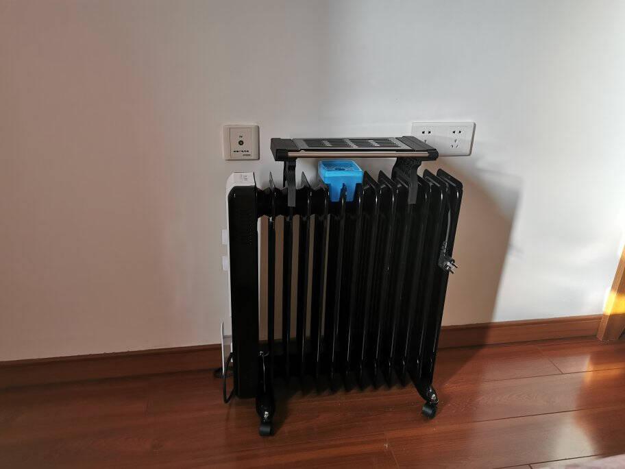 格力(GREE)取暖器/电暖器/电暖气片家用13片家用静音省电速热电热油汀NDY13-X6026a