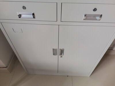 珂洋文件柜办公柜钢制铁皮柜资料柜档案柜储物柜财务室文件柜带锁铁柜子大器械文件柜常规款