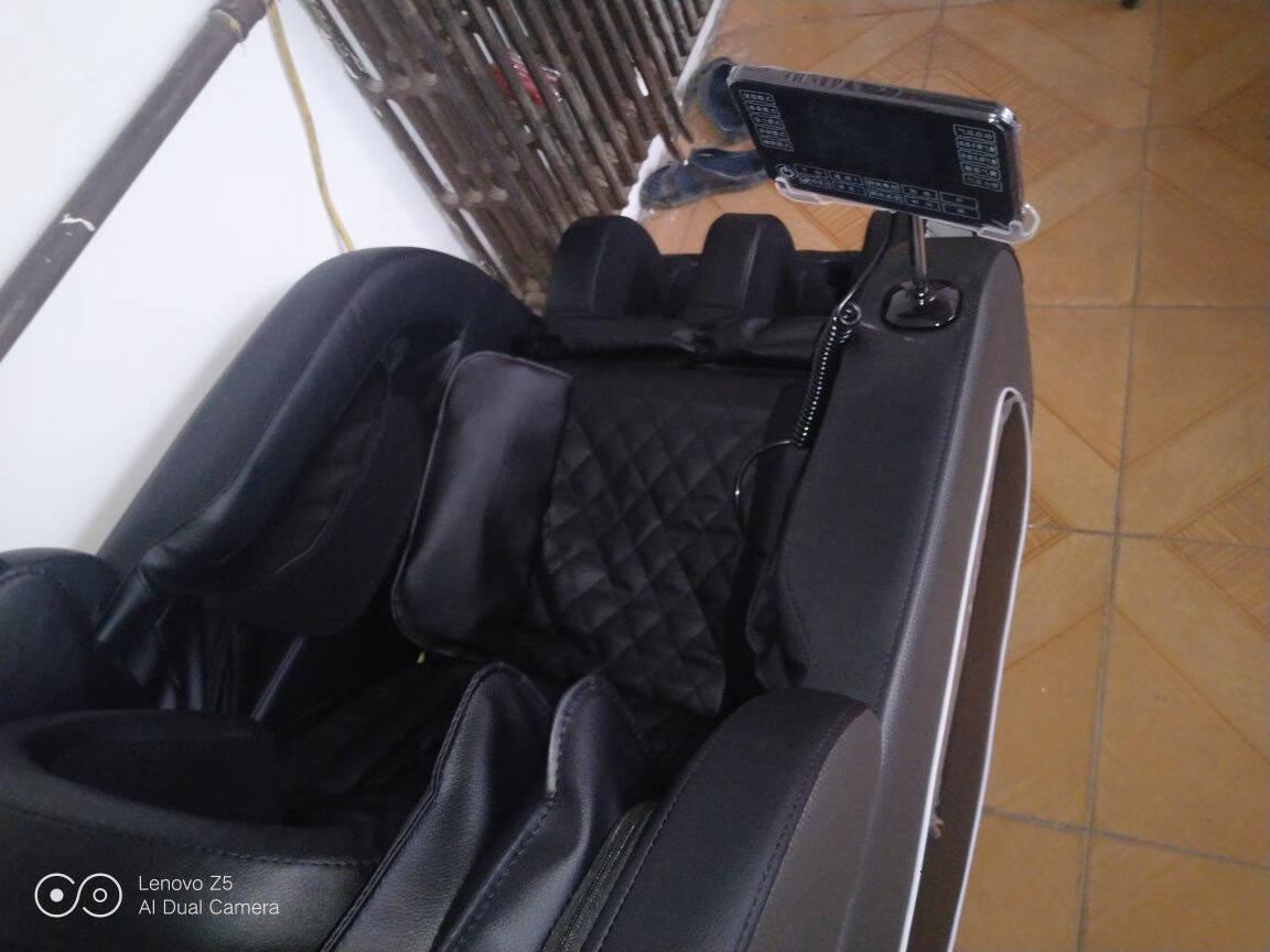 【德国品牌】佳仁(JARE)按摩椅家用全身多功能零重力太空舱全自动电动按摩沙发顶配白+七寸彩屏+玉石机芯+足底滚轮+锗石艾草热敷