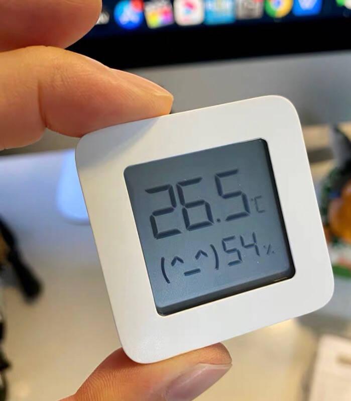 小米(MI)米家蓝牙温湿度计高精度高灵敏度电子家用智能传感器温湿度计小米米家蓝牙温湿度计2代(新款)