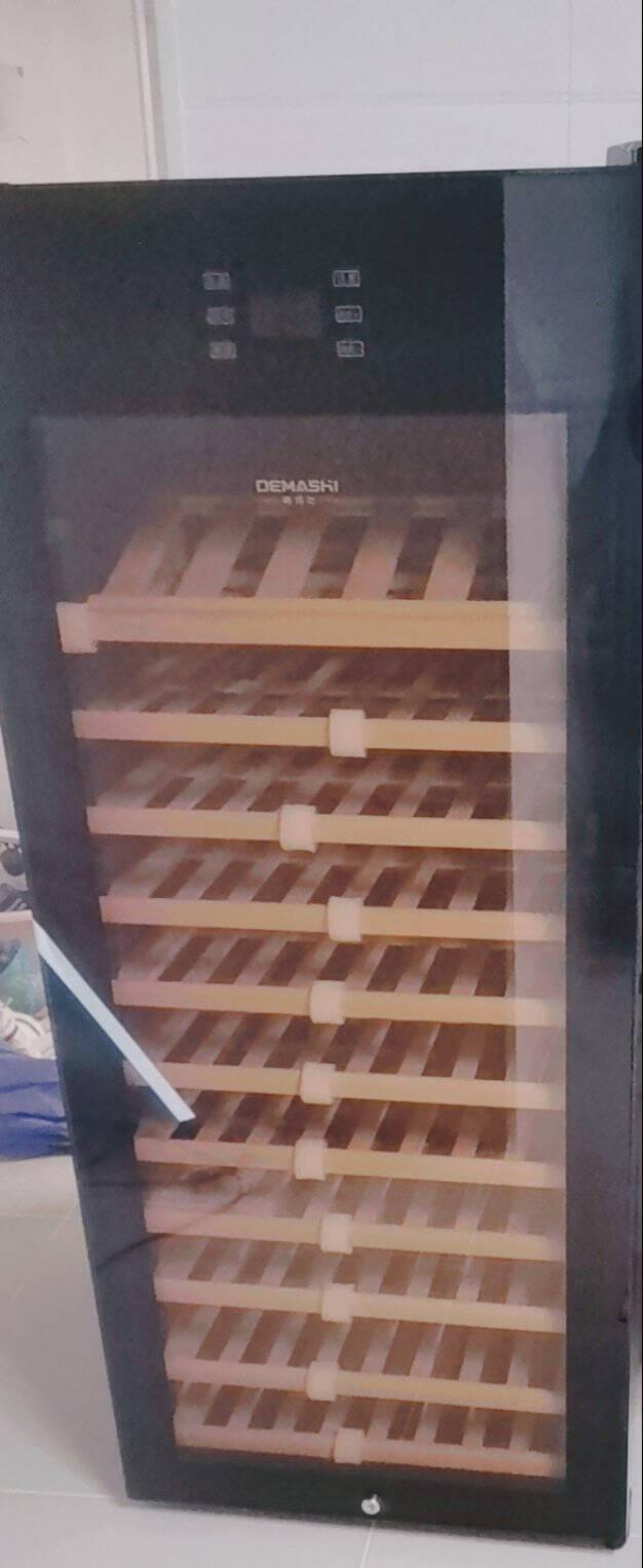 德玛仕(DEMASHI)红酒柜恒温酒柜家用酒窖级雪茄柜电子藏酒柜小型嵌入式红酒柜HJ-230丨230瓶装风冷无霜酒柜