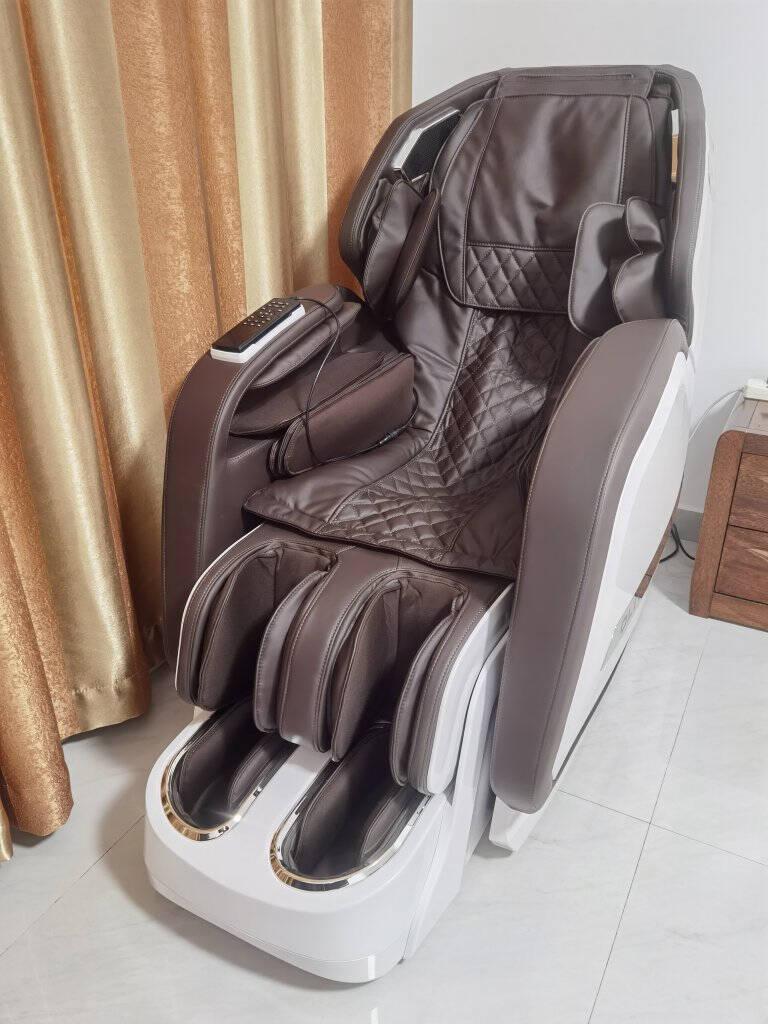 欧利华(oliva)新款AI智能高端按摩椅A8808家用全身豪华全自动多功能按摩沙发拉菲红