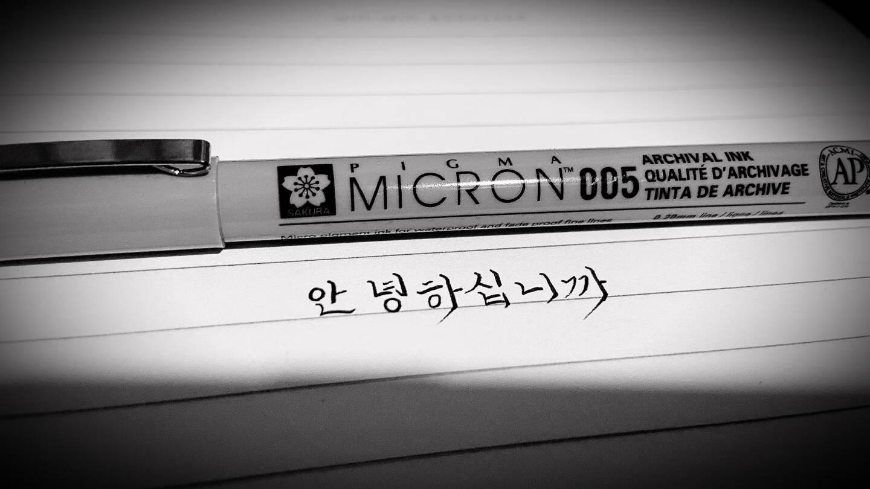 日本樱花(SAKURA)针管笔勾线笔中性笔签字笔绘图笔进口黑色水笔6支漫画套装