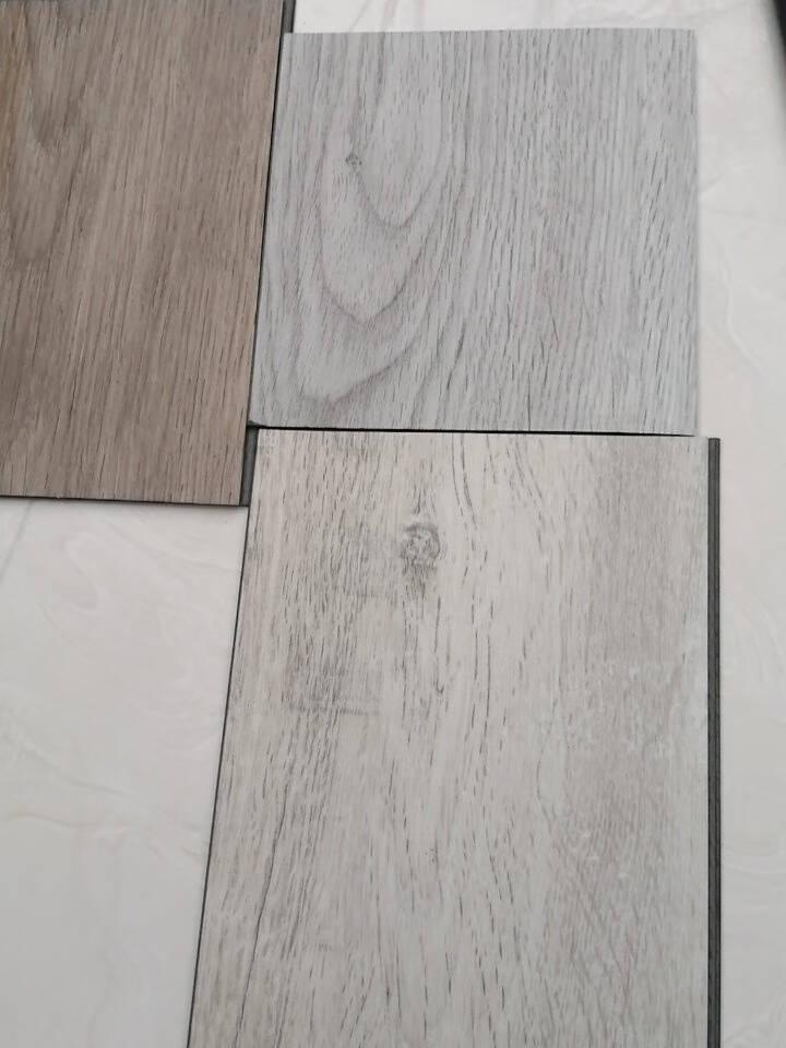 德柏尔SPC锁扣地板加厚3.8mm耐磨防水卡扣式木地板家用塑胶地板卧室复合地板样品一平米价格