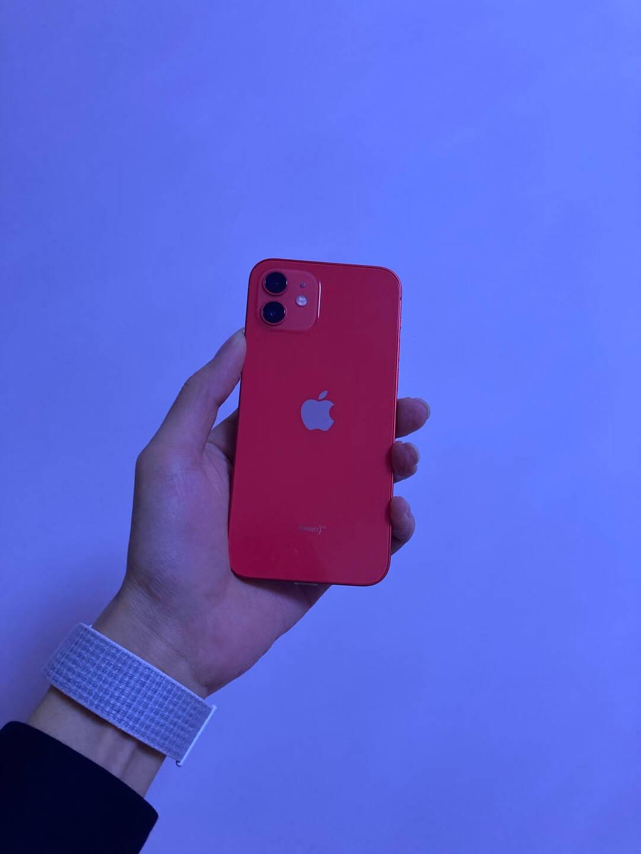 AppleiPhone12(A2404)128GB红色支持移动联通电信5G双卡双待手机