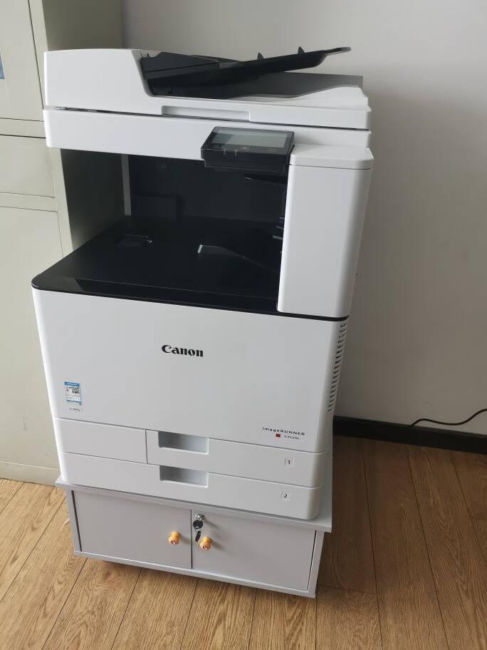 佳能(Canon)iRC3120L/3125彩色激光复印机a3A4扫描打印多功能一体机办公复合机C3125标配(主机+双面自动输稿器+工作台)官方标配