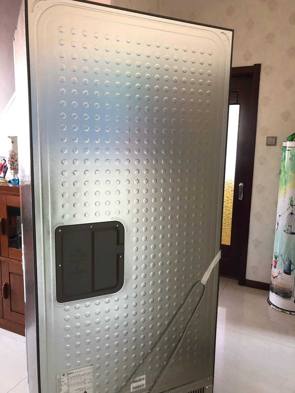 美的(Midea)449升电冰箱十字对开门超薄四开门一级能效风冷无霜双变频温湿精控智能家电449升十字对开门BCD-449WSPZM(E)