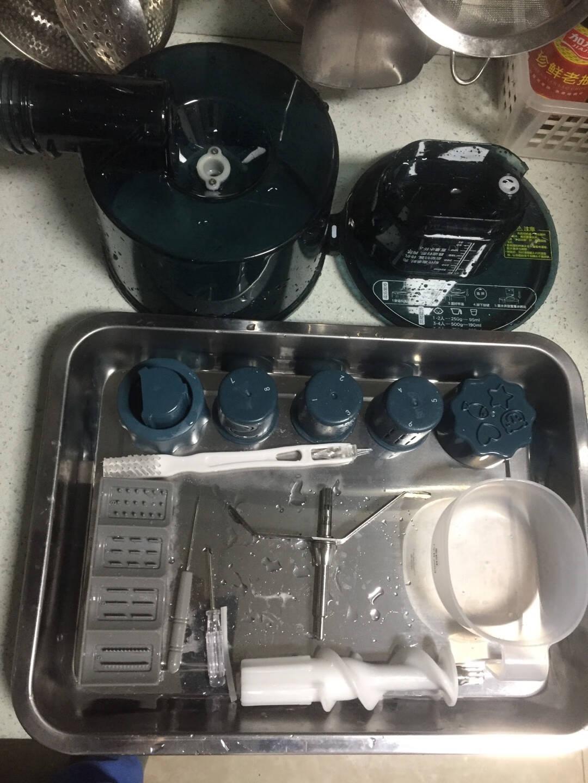 京东京造面条机全自动多功能压面机和面机家用多模头易清洁可拆卸墨绿色