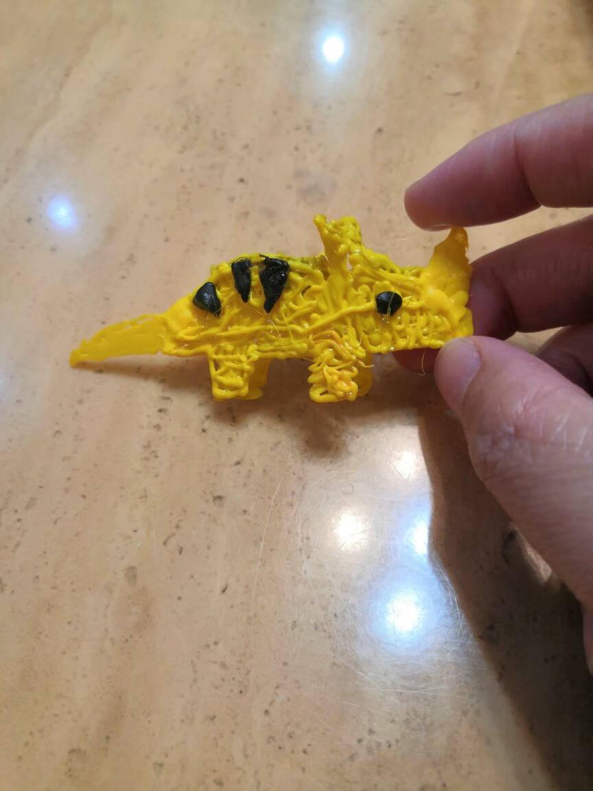 小马良儿童3D打印笔3d打印绘画笔立体涂鸦笔低温安全抖音同款生日礼物马良神笔创意玩具可爱粉【标配款】16米耗材+画册