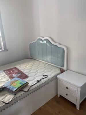 蒂歌秋语床美式乡村实木床1.8米双人床现代简约主卧婚床卧室实木公主床单张实木床1500mm*2000mm框架结构