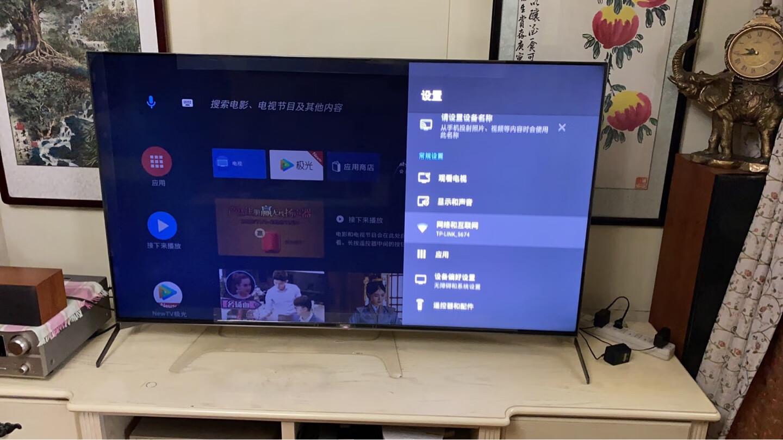 索尼65英寸4K超高清电视,两三朋友看赛事都有C位