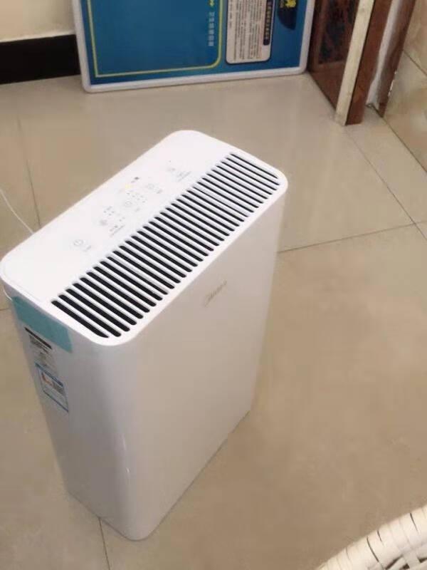 美的(Midea)空气净化器除甲醛除烟味家用除灰尘空气消毒机新风机除雾霾粉尘高性价比+高颜值