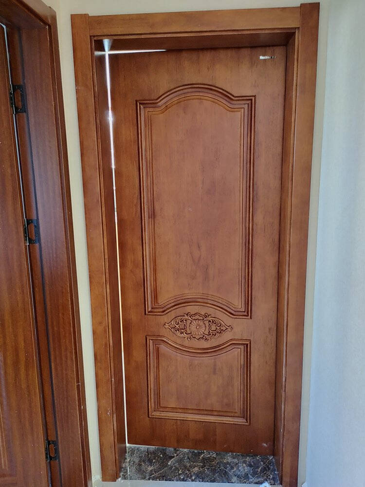 Mexin美心蒙迪木门环保烤漆玻璃门卫生间门厨房门现代简约室内门7663定制尺寸