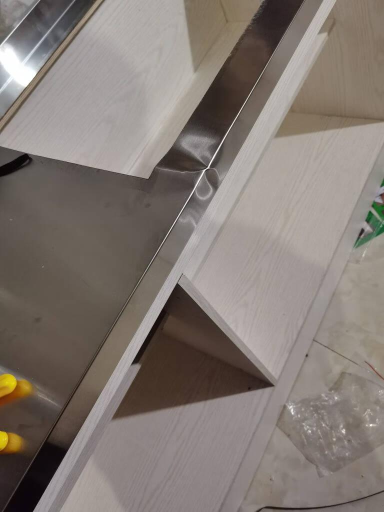简易橱柜免安装灶台柜家用定制厨房整体一体式洗菜盆可移动储物柜不锈钢碗筷柜组装经济型现代简约置物柜160cm灶孔(可选左右)