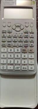 卡西欧(CASIO)FX-991CN科学函数计算器物理化学竞赛大学生考研灰色款