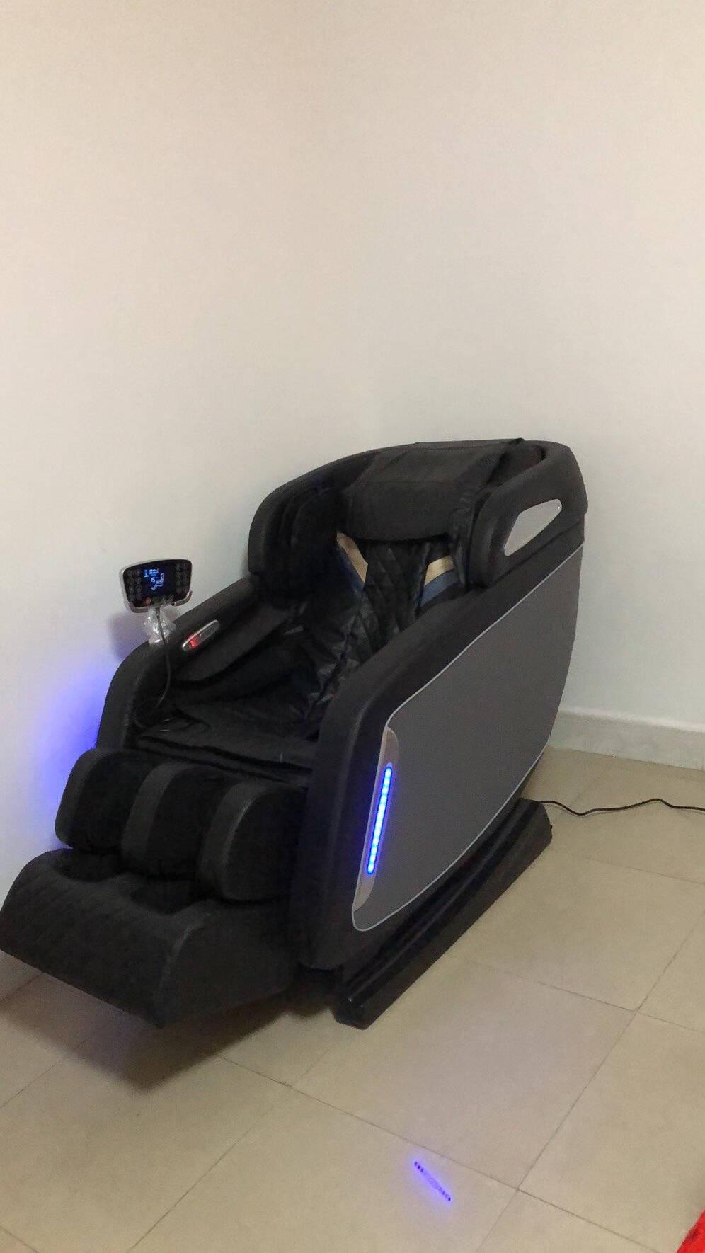 乐尔康(Leerkang)按摩椅家用全身豪华零重力全自动多功能电动按摩沙发椅子智能太空舱988-5