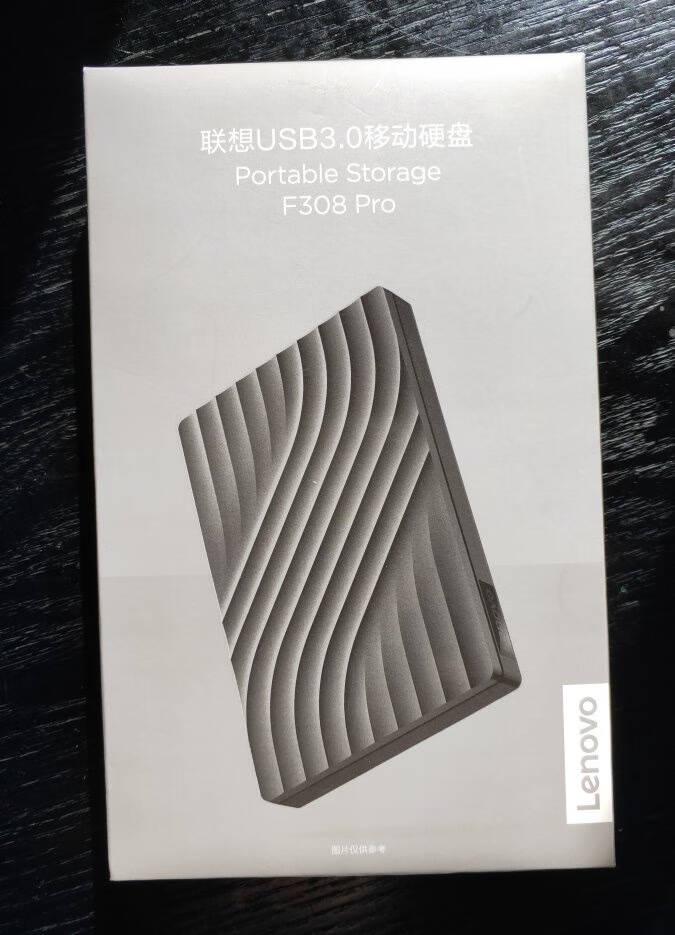 联想(Lenovo)移动硬盘1TUSB3.0高速传输便携NAS外接硬盘F3082.5英寸黑色(新老包装随机发货)