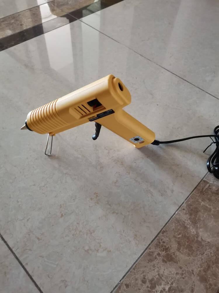得力(deli)可调温热胶枪热熔胶枪100-150wDL401151