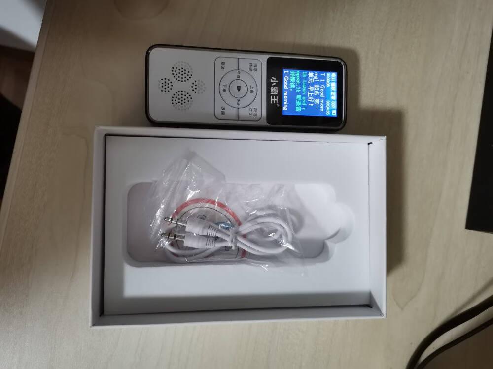 小霸王复读机英语听力训练MP3可断句录音免磁带A2可扩充TF卡