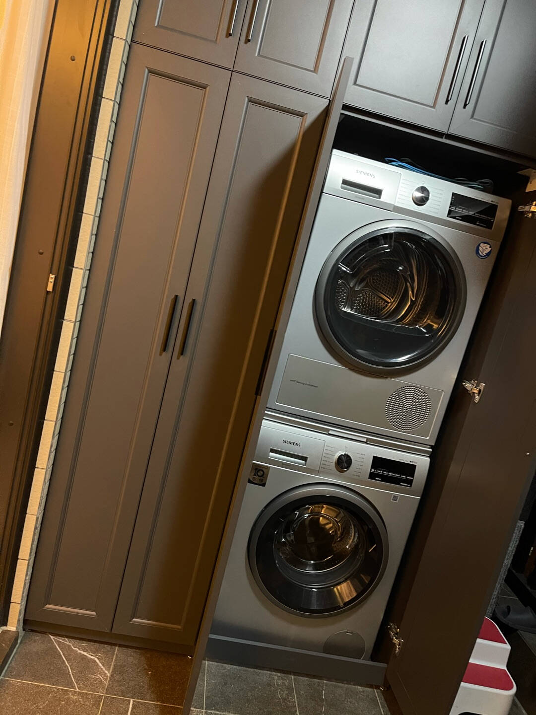 西门子9kg干衣机热泵干衣自清洁冷凝器R290环保冷媒WT47W5681W银