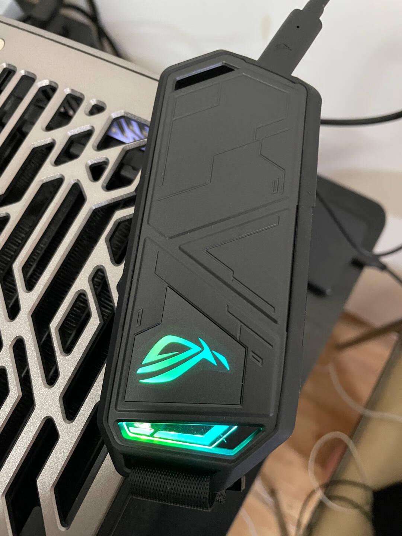 华硕(ASUS)ROG幻影STRIXARION高速M2硬盘盒支持固态硬盘移动外接ROG标准版